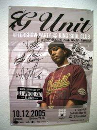 poster von der sg-unit-tour 2005
